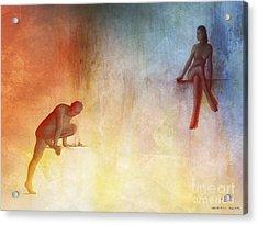 Waking Hells Acrylic Print by Pedro L Gili
