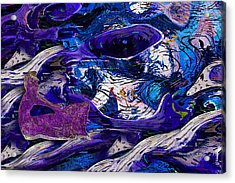 Waking In A Dream Acrylic Print by Jack Zulli