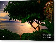 Waking Ka'anapali  Acrylic Print by Kelly Wade