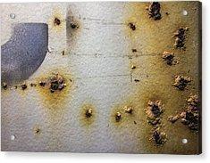 Waking Rust Acrylic Print by David Stone