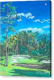 Walden On Lake Conroe Hole 8 Acrylic Print by Frank Giordano