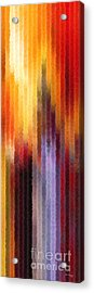 Walk In The Light. Big Canvas Art Acrylic Print by Great Big Art