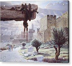 Walk In The Light  Jerusalem Acrylic Print