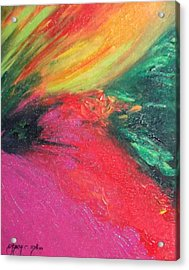 Walk Into Bliss Acrylic Print by Ifeanyi C Oshun
