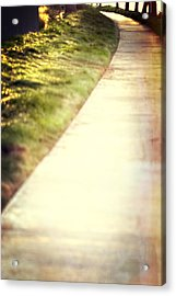 Walk Into The Sun Acrylic Print