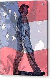 Walk Of The War Acrylic Print by Lesa Fine