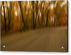 Walk To Change Acrylic Print