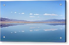 Walker Lake Mirror Acrylic Print by Jennifer Nelson