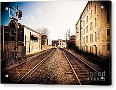 Walkers Point Railway Acrylic Print