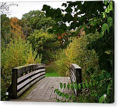 Walking Bridge Acrylic Print