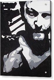 Walking Dead Daryl Close Acrylic Print