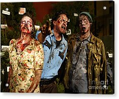 Walking Dead Acrylic Print by Nina Prommer
