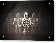 Walking Dead Acrylic Print by Samuel Whitton