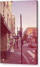 Walking In Georgetown Acrylic Print