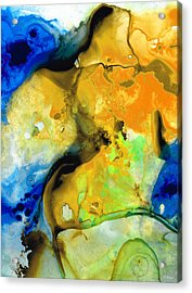 Walking On Sunshine - Abstract Painting By Sharon Cummings Acrylic Print
