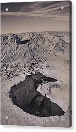 Walking On The Moon Acrylic Print by Laurie Search