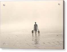 Walking The Dog Florentia Acrylic Print