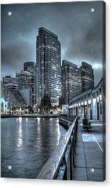 Walking The Embarcadero San Francisco Acrylic Print