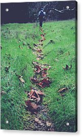 Walking The Path Less Traveled Acrylic Print by Laurie Search