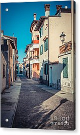 walking through Grado - through the past Acrylic Print