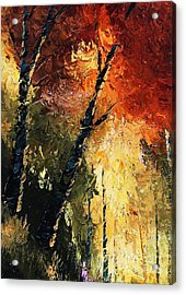 Walking With A Dream Acrylic Print by Steven Lebron Langston