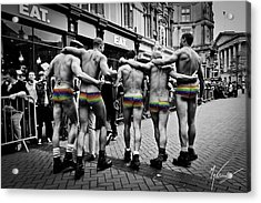 Walking With Pride Acrylic Print