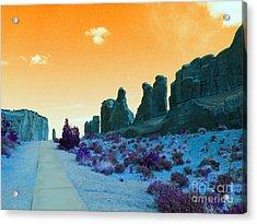Walkway To Provenance Acrylic Print by Patricia Januszkiewicz