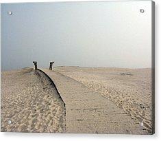 Walkway To Thoughts Acrylic Print by Patricia Januszkiewicz