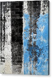 Acrylic Print featuring the digital art Wall Abstract 34 by Maria Huntley