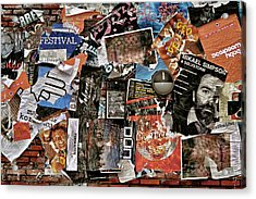 Wall Of Babel Acrylic Print by Odd Jeppesen