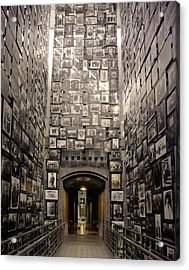 Wall Of Remembrance At The U.s Acrylic Print by Everett