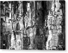 Acrylic Print featuring the photograph Wall Of Rock by Miroslava Jurcik