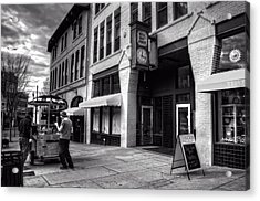 Wall Street Hot Dogs In Asheville Nc Acrylic Print