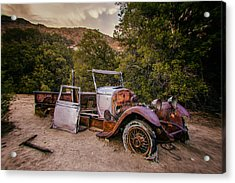 Wall Street Mine Pickup Acrylic Print by Peter Tellone