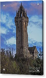 Wallace Monument During Sunset Acrylic Print