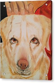 Acrylic Print featuring the painting Walle by Brindha Naveen