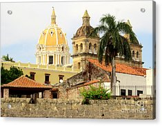 Walled Cathedrals Acrylic Print