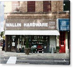 Wallin Hardware Acrylic Print