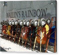 Wallin's Rainbow Acrylic Print