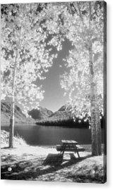 Wallowa Lake Infrared Acrylic Print