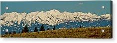 Wallowa Mountains Oregon Acrylic Print