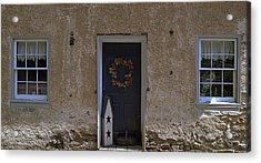 Walls And Windows Acrylic Print by M Hess