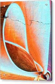 Walltatoo Acrylic Print by Nico Bielow