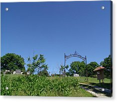 Walnut Hill Cemetery Acrylic Print