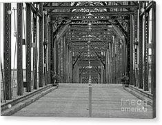 Acrylic Print featuring the photograph Walnut Street Bridge by Geraldine DeBoer