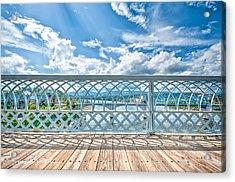 Walnut Street Walking Bridge Acrylic Print