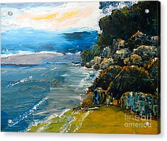 Walomwolla Beach Acrylic Print