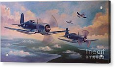 Walsh's Flight Acrylic Print by Stephen Roberson