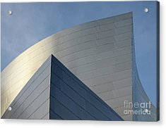 Walt Disney Concert Hall 3 Acrylic Print by Bob Christopher