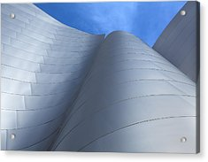 Walt Disney Concert Hall Architecture Los Angeles California Abstract Acrylic Print